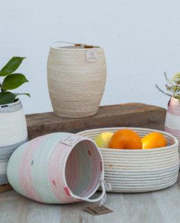 jarrón-artesanía-cuerda-decoración-galicia
