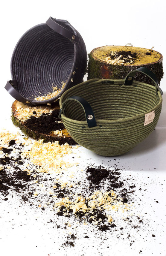 cestería de diseño contemporáneo