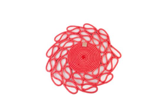 mantel individual rojo 2